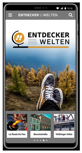 Die kostelose ENTDECKERWELTEN-App