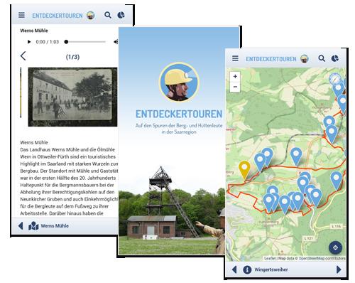 Entdeckertouren - Screenshots
