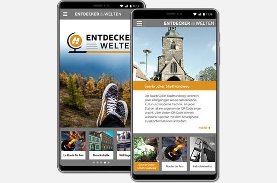 Die Entdeckerwelten-App