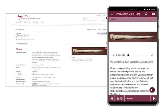 Eigene Inhalte aus digiCULT oder der Deutschen Digitalen Bibliothek importieren